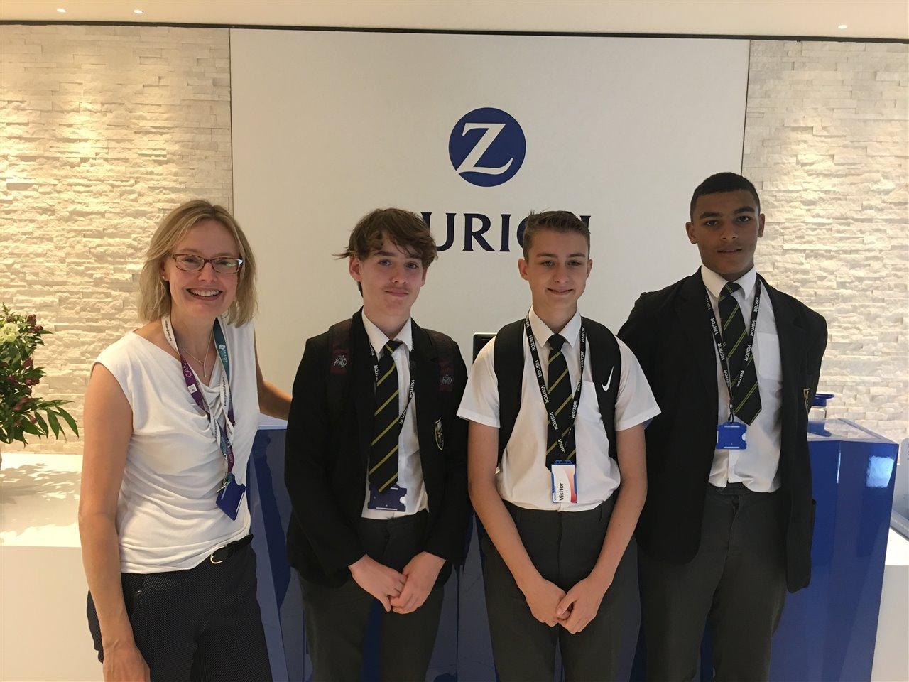 Zurich Insurance Challenge 1 July 19 Highams Park School